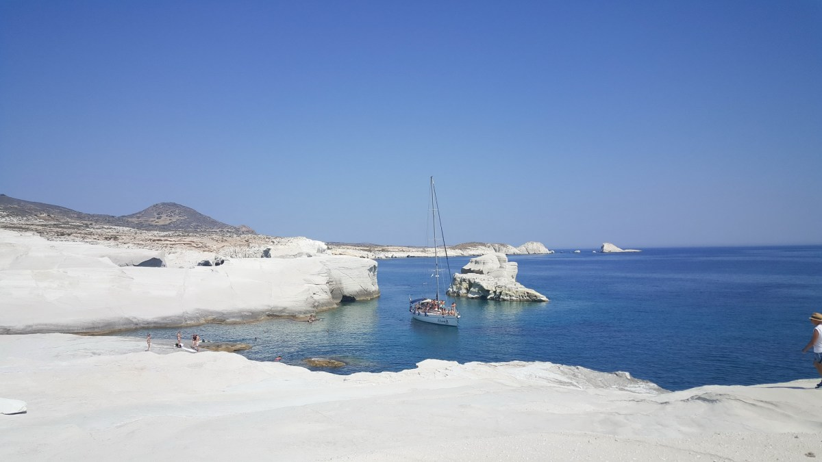 Greek travel photographer Sarakiniko Milos