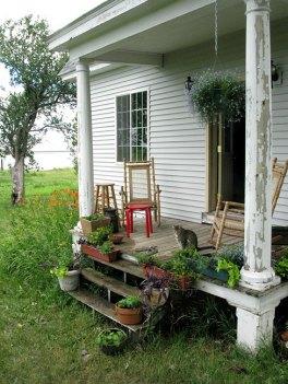 Summer porch, 2009