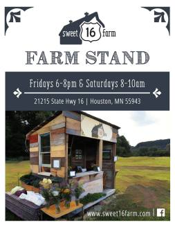 Farm stand flyer