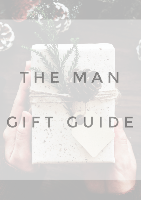 Last Minute Gifts: The Man Edition