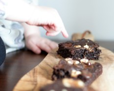 Fudgy Apricot Brownies