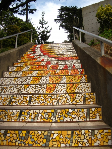 Some of the prettiest steps I ever did see