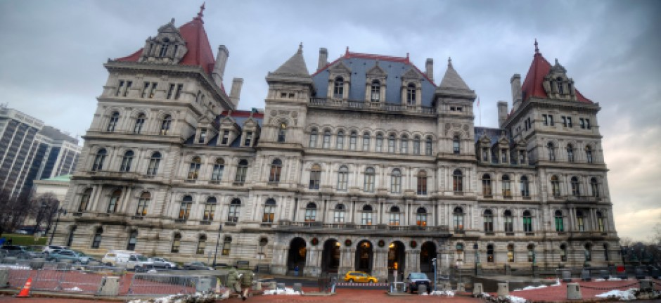 A Tourist at Home: The New York State Capitol - Sweet and Savoring [photo by Andy Milford]