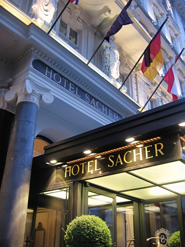 Out of Place at the Hotel Sacher Vienna