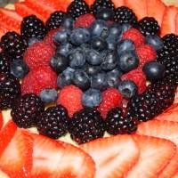 Vanilla Berry Cream Pie