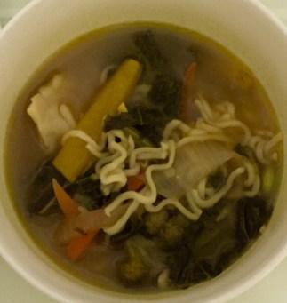 Vegetable Ramen Soup