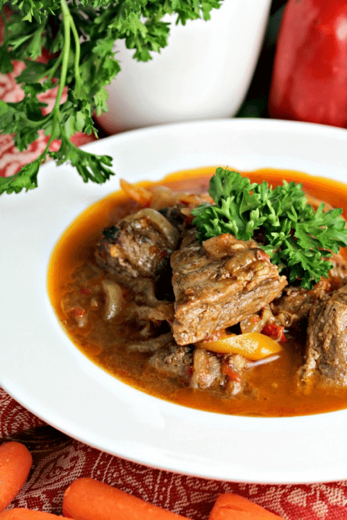 Easy Stovetop Beef Stew - Sweet and Savory Meals