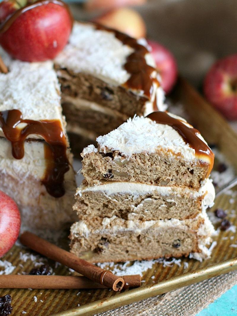 Quick Apple Bundt Cake