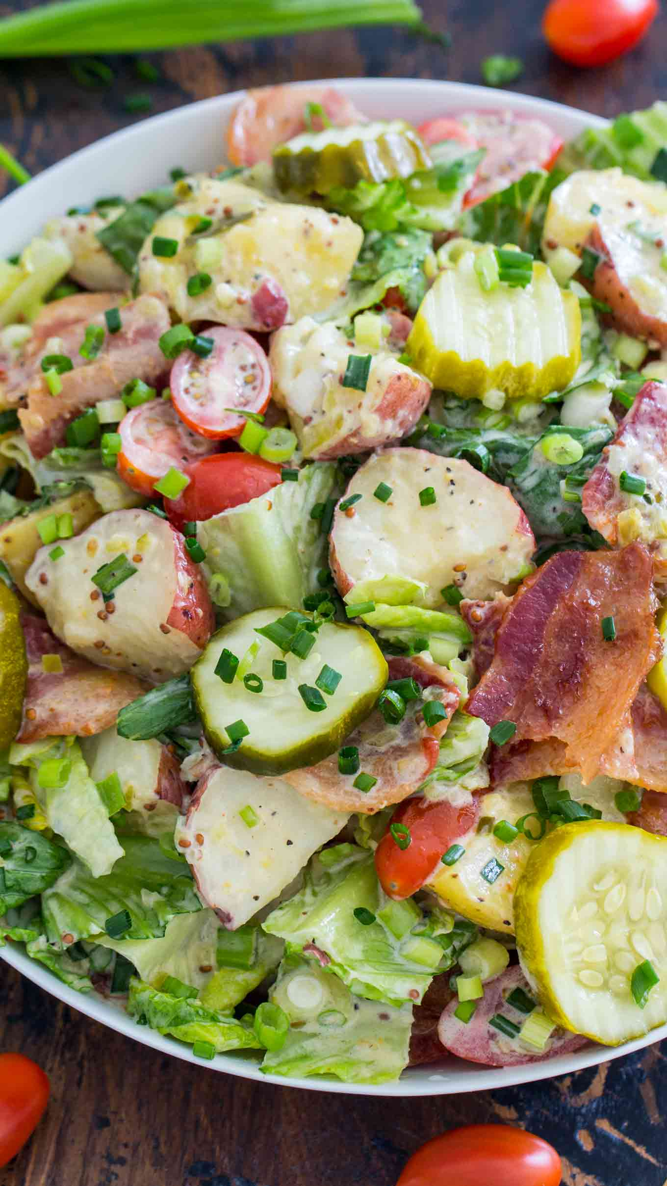 BLT Potato Salad Recipe