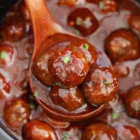 Best BBQ Crockpot Meatballs