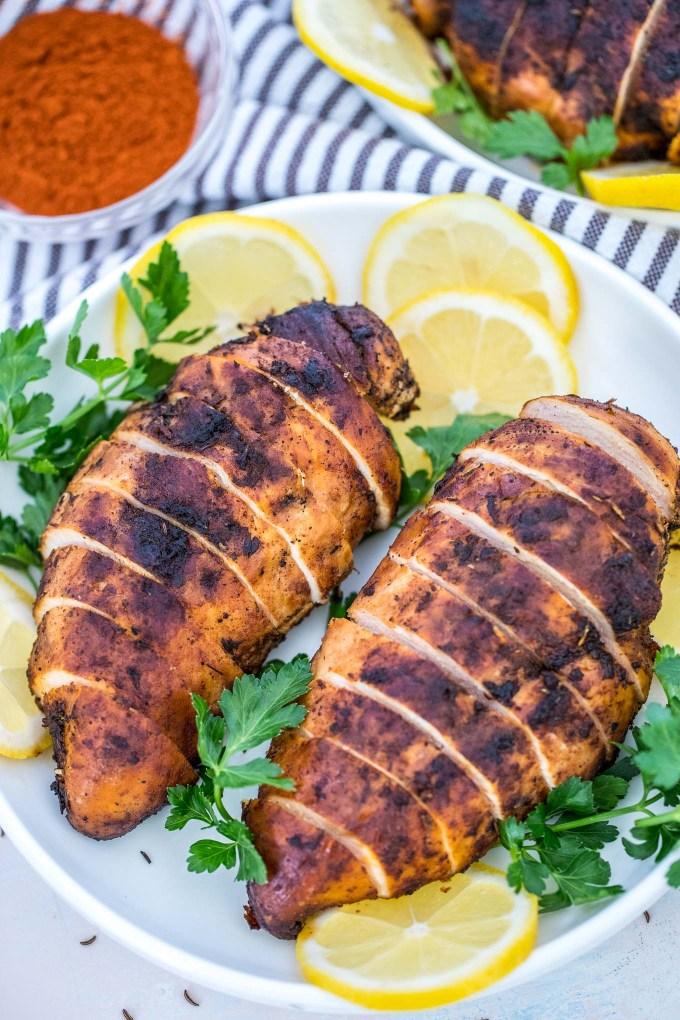 Blackened Chicken Breasts Recipe