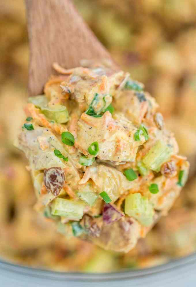 Creamy Curry Chicken Salad Recipe