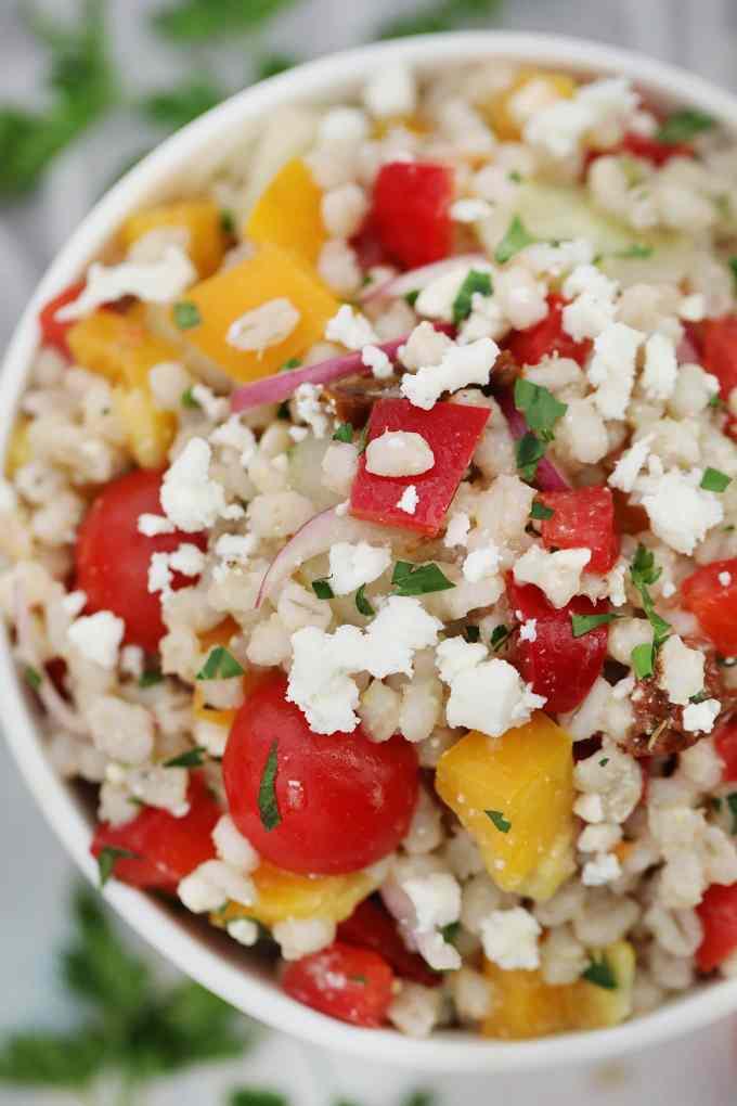How to Make Farro Salad Recipe