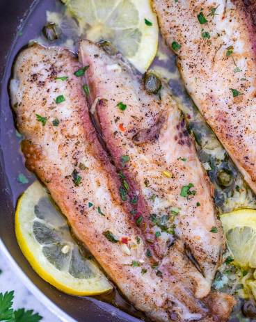 Lemon Garlic Butter Swai Fish