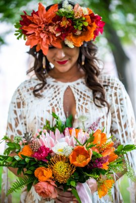 Floral Crowns and floral arrangements for weddings, events, and Mommy and Me. San Diego local event planner and photographer.