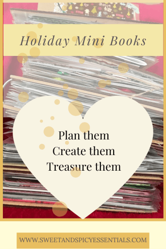 december daily magic. holiday mini books. plan them. create them. treasure them.