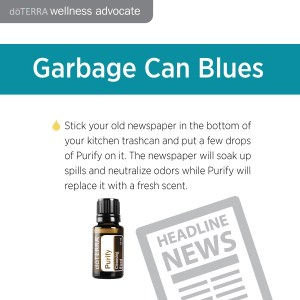 Essential oils to neutralize odors in your trash can. Essential oils for wholesale.