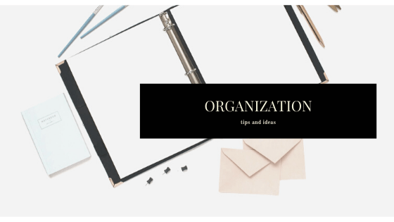 Organization. Mamas, this is our year to get organized. Home page: From the blog at sweetandspicyessentials.com