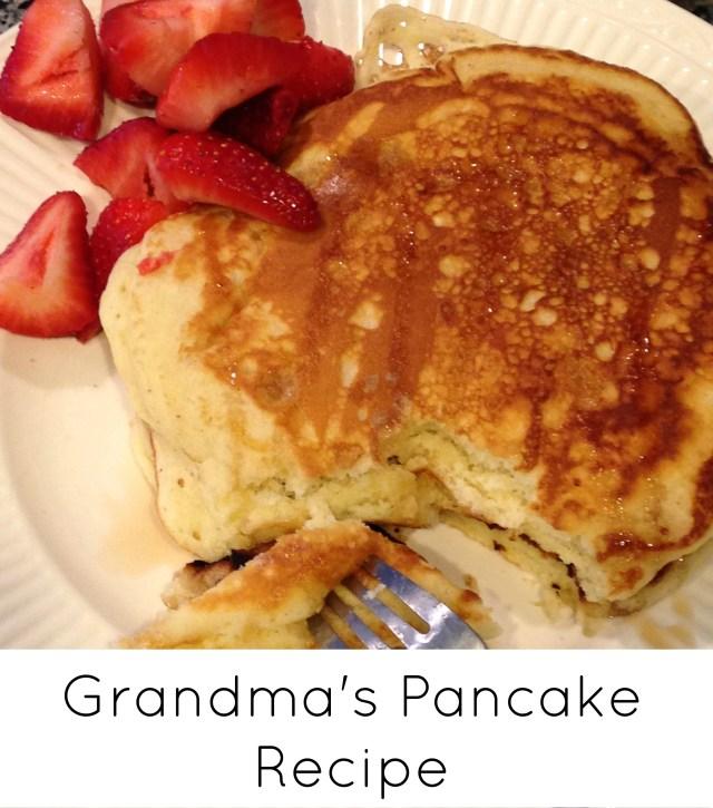Grandma's Pancake Recipe