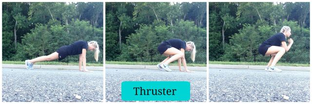 5 Squat Variations you need to try, Thruster