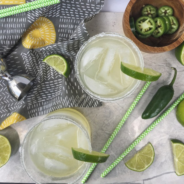 Spicy Jalapeno Margaritas.