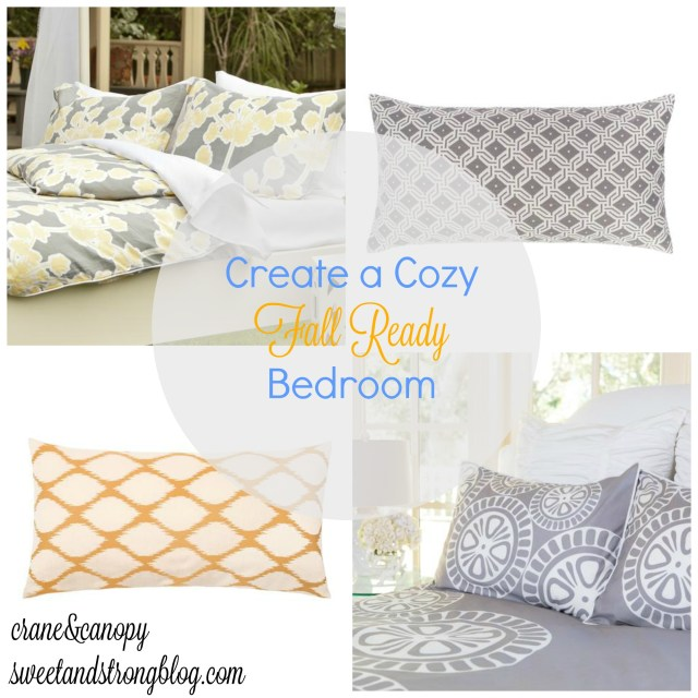 Create a Cozy Fall Bed