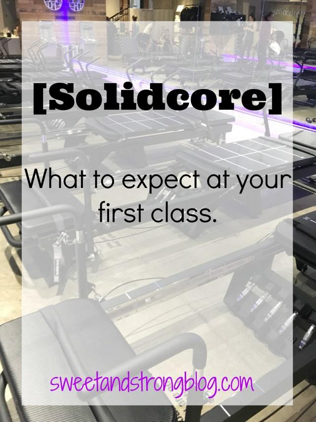 Solidcore Pilates Reformer Studio Class Review