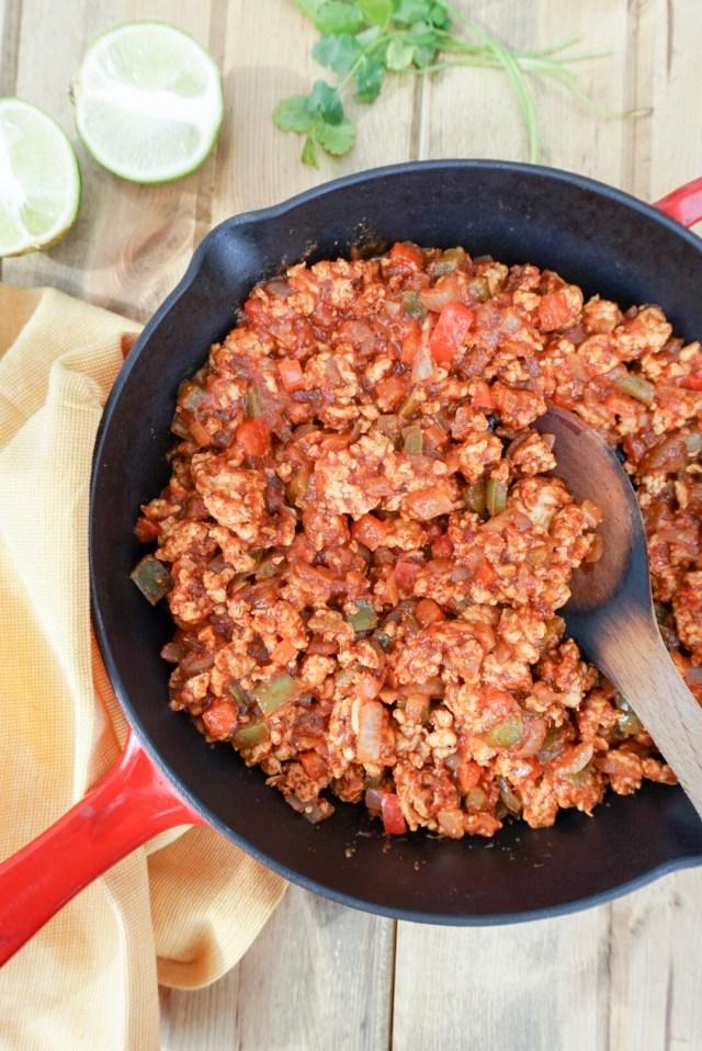 Turkey Taco Sloppy Joes Recipe