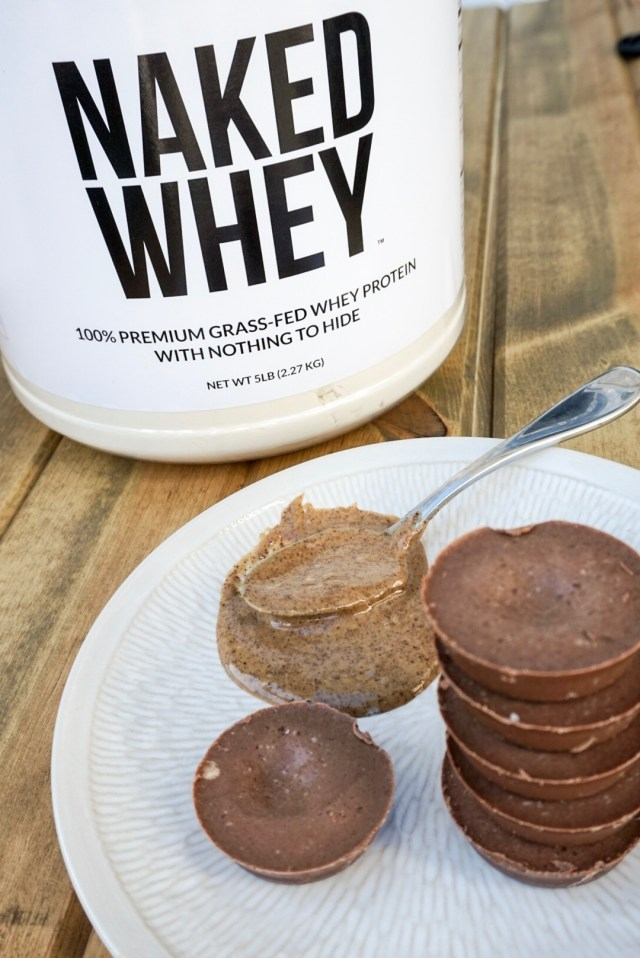 Healthy Dessert, Almond Butter Protein Fudge
