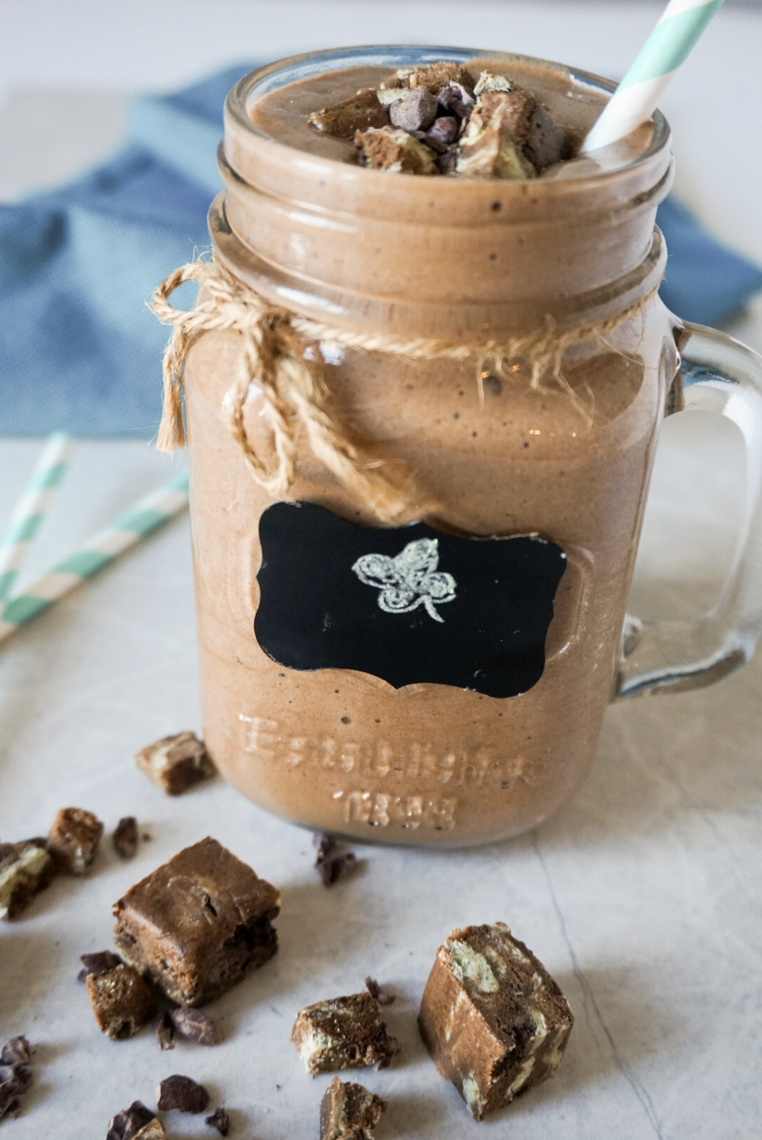 Mint Chocolate Protein Shake - Sweet and Strong