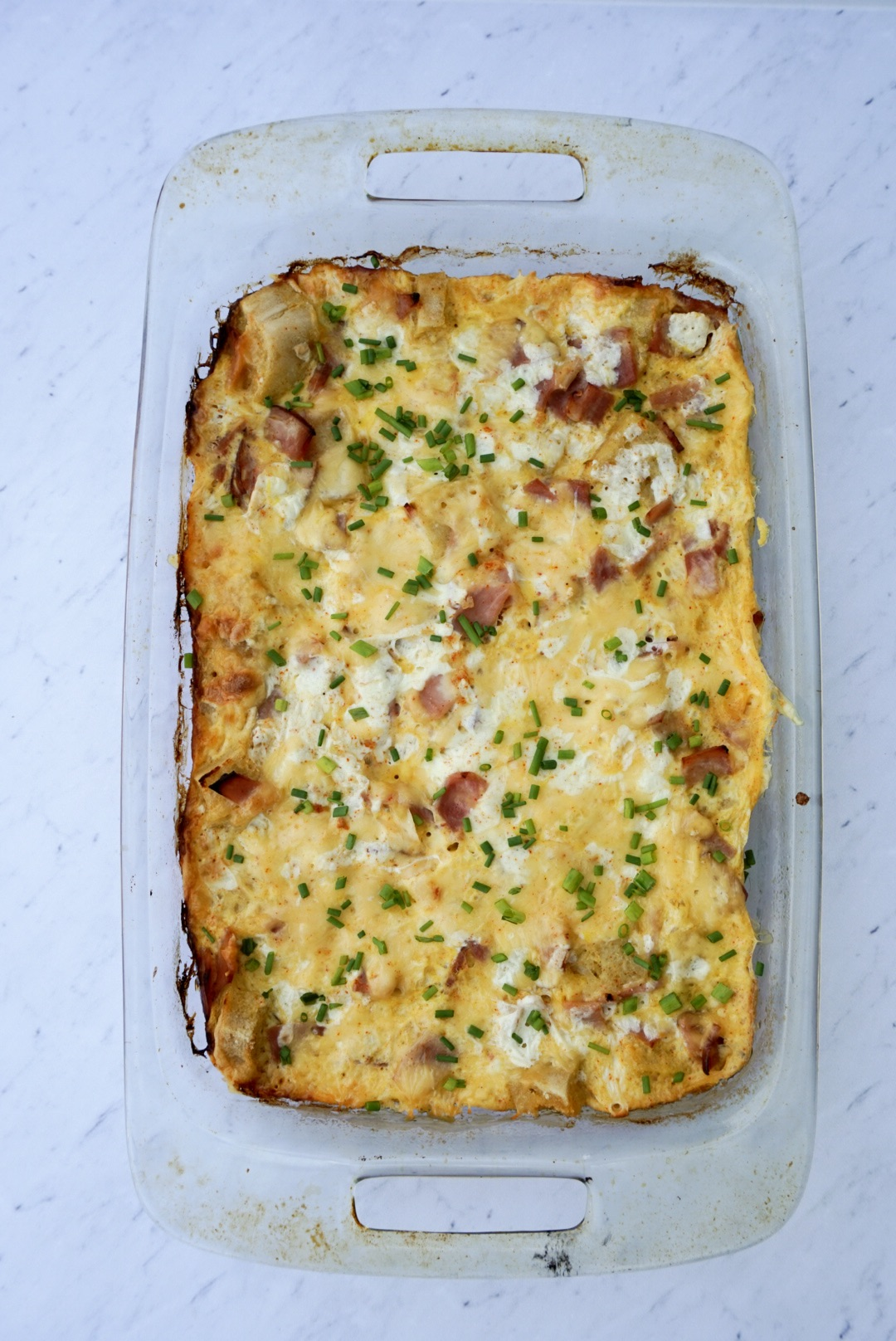 whether you are hosting easter or a spring brunch or are just looking for a delicious breakfast casserole i hope you give this one a try - Cheese Strata Recipes Brunch
