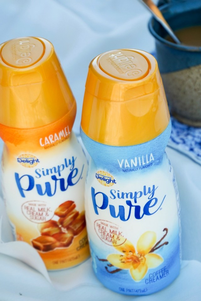 Simply Pure Vanilla and Caramel Coffee Creamers