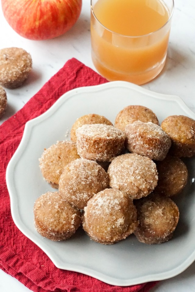 Apple Cider Spiced Donut Holes
