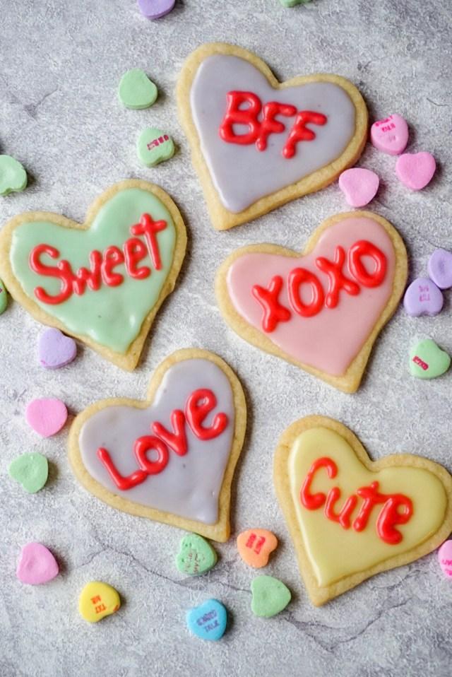 Heart Cut Out Sugar Cookies