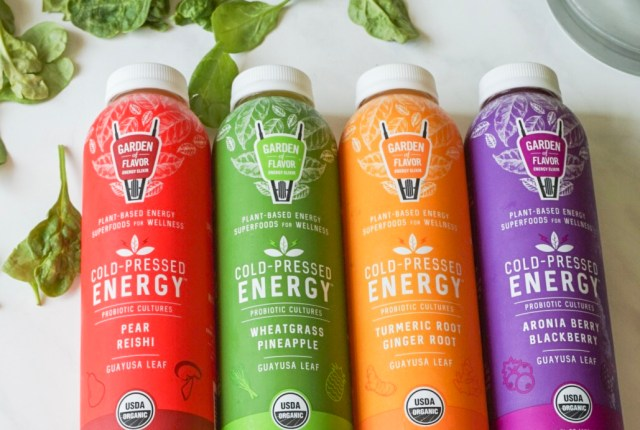 Garden of Flavor Energy Juices