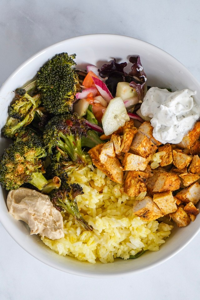 Chicken Shawarma Bowl