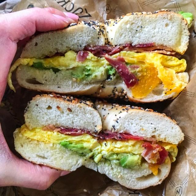 Zuckers NYC Bagel Sandwich