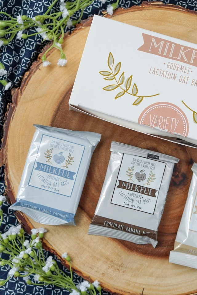 Milkful Bars for breastfeeding moms
