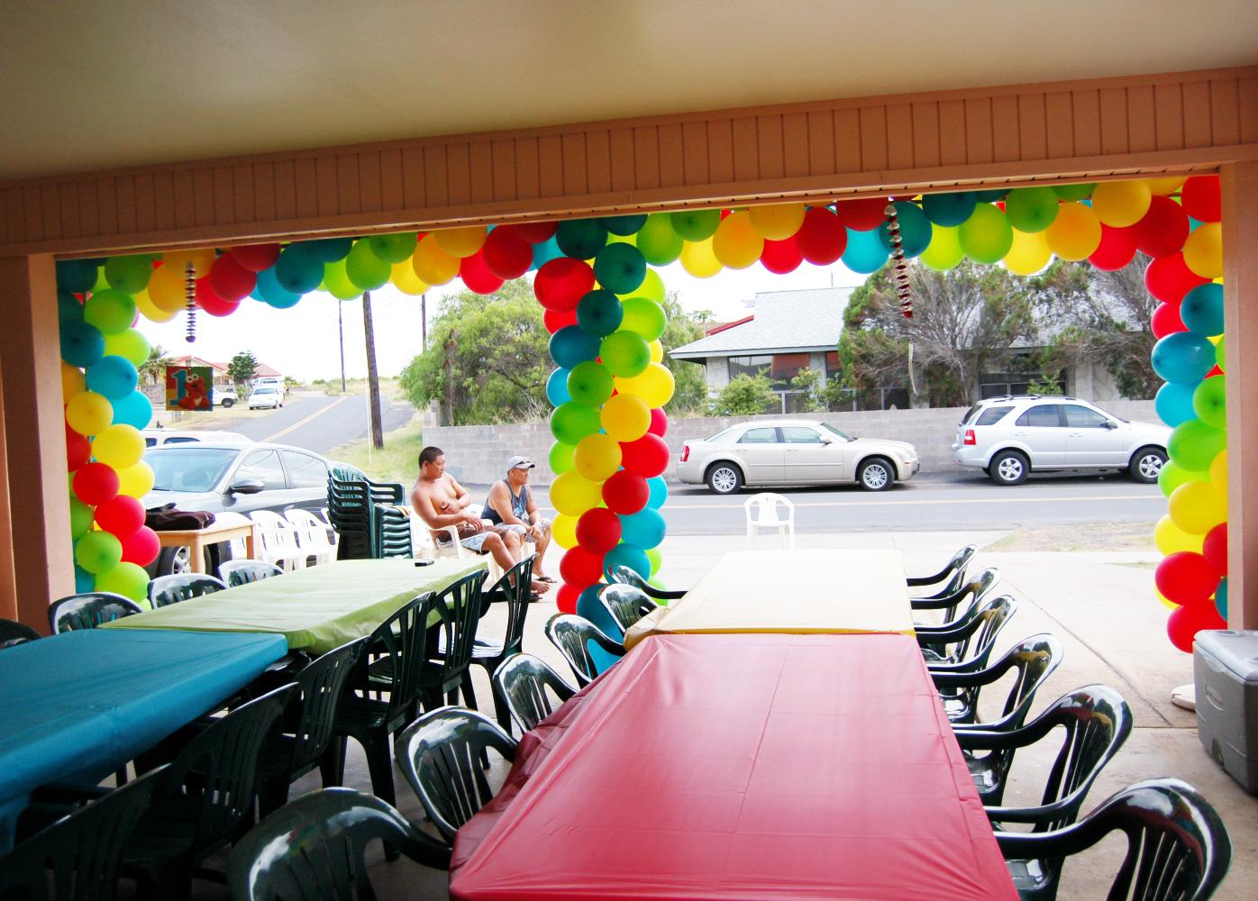 Balloon Decorations | Sweet-Art Designs... Creative ideas ... on Garage Decoration  id=36418
