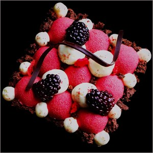 Red Currant and Cream Tartelettes - Harlequin