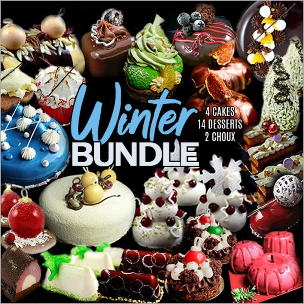 Winter Dessert and Cake Recipes Collection Bundle