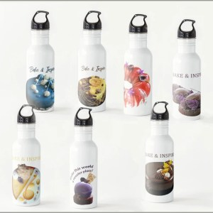 SweetArt Water Bottles ~ For You to Use and Inspire