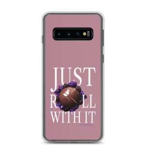 Just Roll With It Pink Samsung Case with Le Desir Dessert