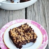 Chocolate Chip Toffee Pudding Cake