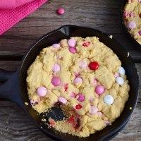 Valentine Mini Skillet Cookies