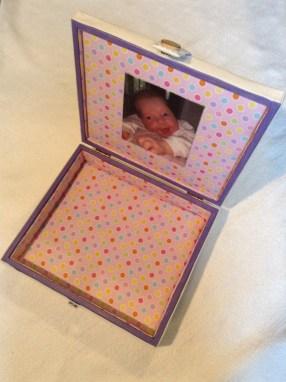 baby girl box inside