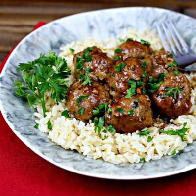 Recipe Remake: Teriyaki Turkey Meatballs
