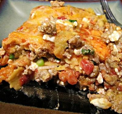 FC Day 28 – Enchilada Lasagna