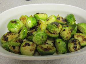 Pan Roasted Brussels Sprouts with Brown Butter