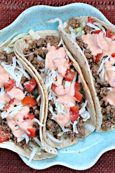 Taco Tuesday: Sriracha Beef Tacos